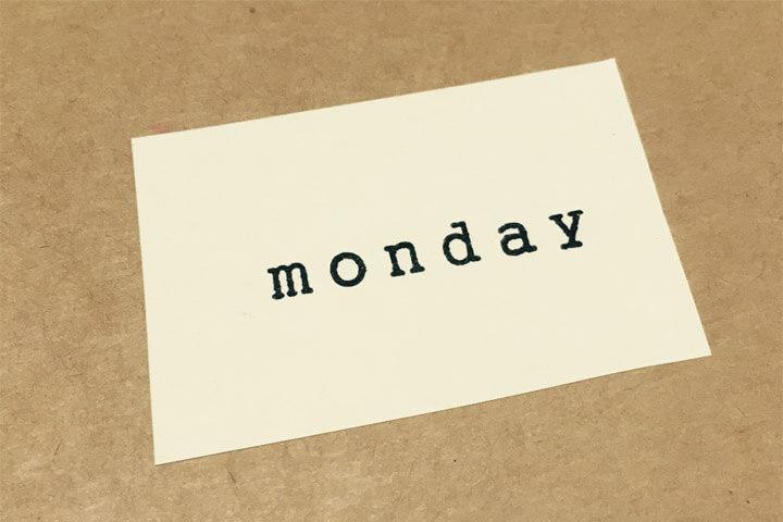 月曜断食とは