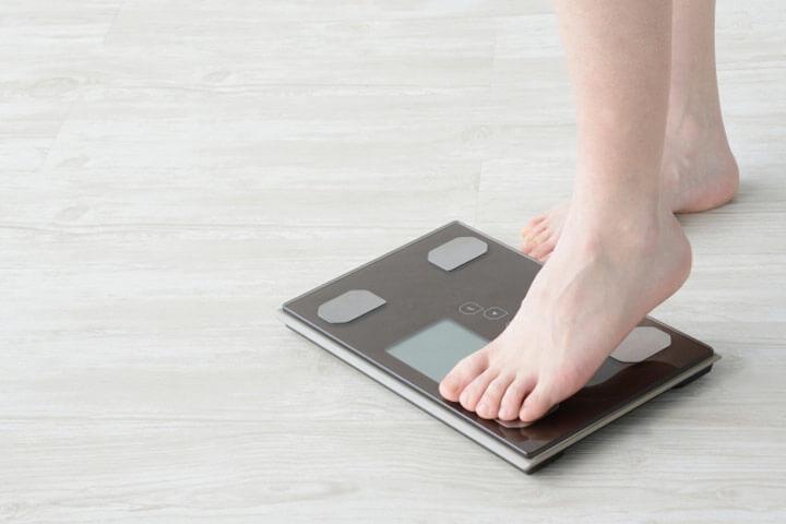体重を気にしない