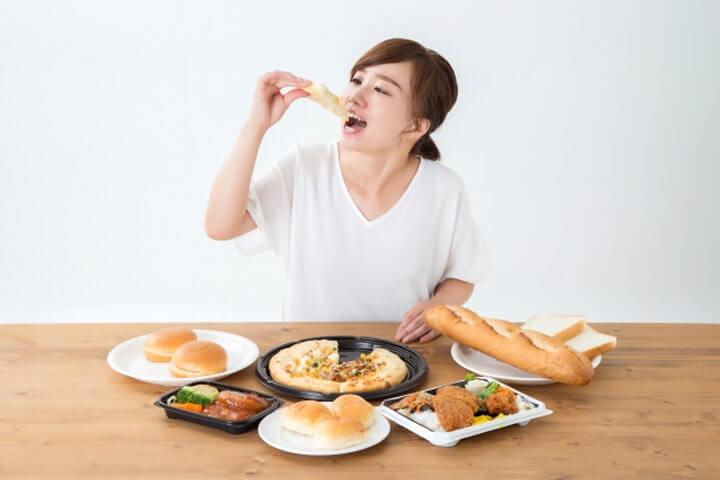 断食後の食べ過ぎはリバウンドに要注意!